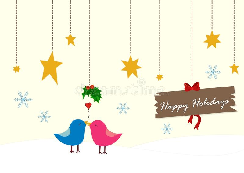 Download Christmas birds stock illustration. Illustration of illustration - 11498576