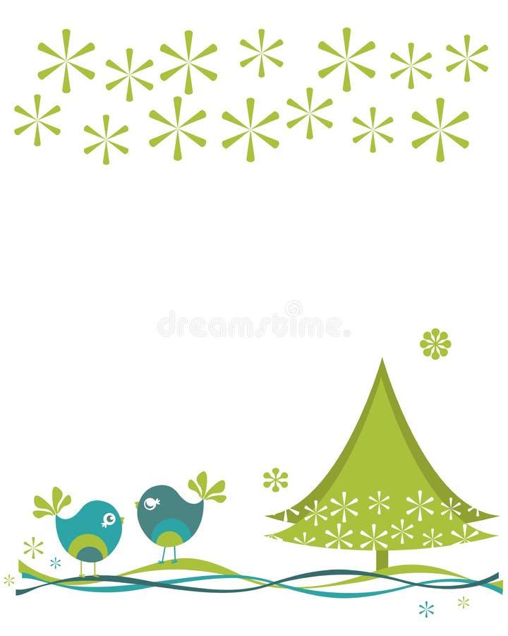 Download Christmas birds stock vector. Image of illustration, december - 29236718