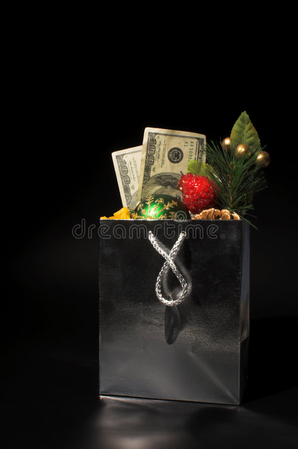 Christmas or Birthday Present stock photography