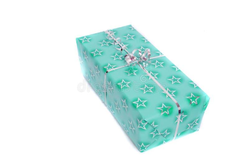 christmas or birthday present royalty free stock image