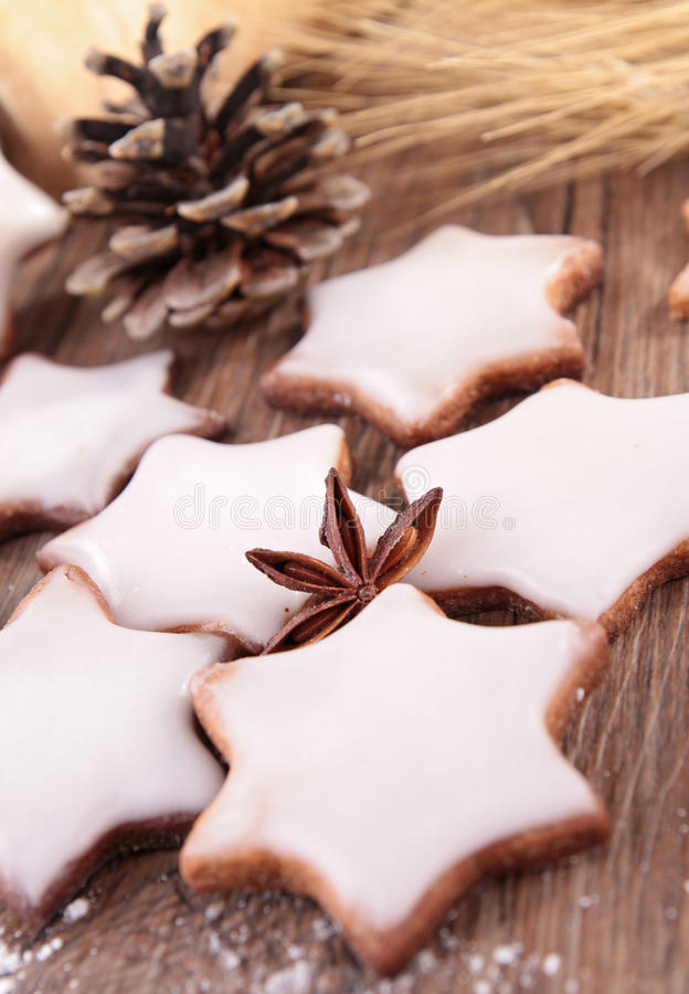 Download Christmas biscuit stock photo. Image of mold, iced, confectionery - 26671596