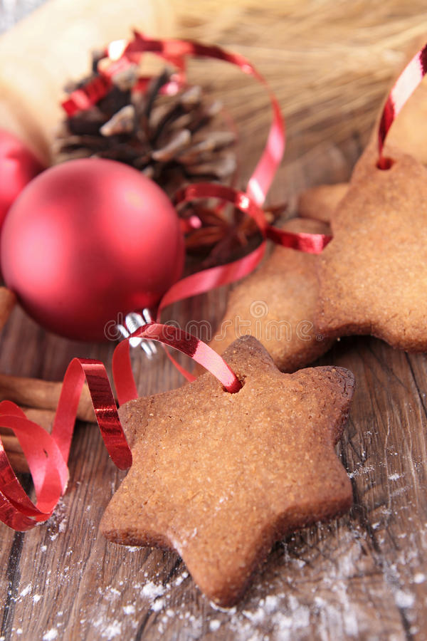 Download Christmas biscuit stock photo. Image of cooked, dessert - 26671622