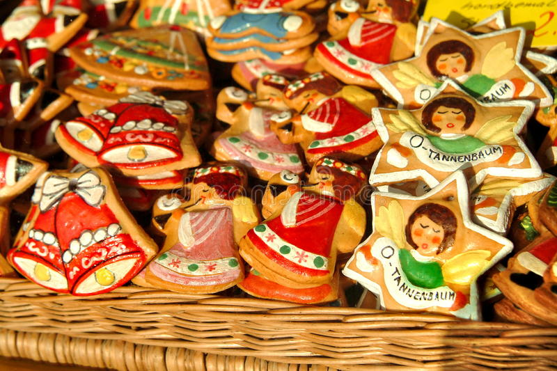 Christmas biscuits, Christmas cookies, Germany royalty free stock photos