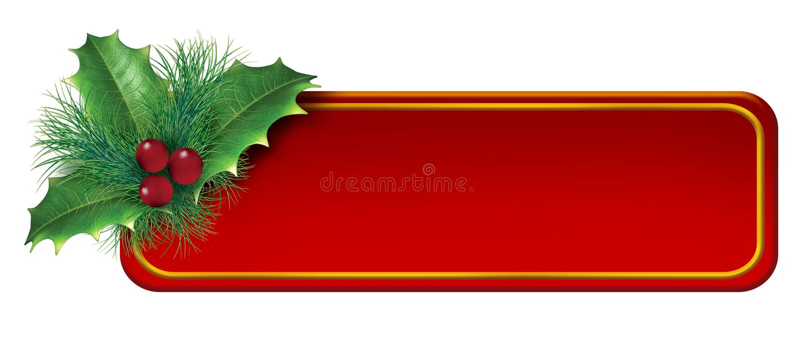 Download Christmas Blank Tag Decoration Element Stock Illustration - Image: 22400419