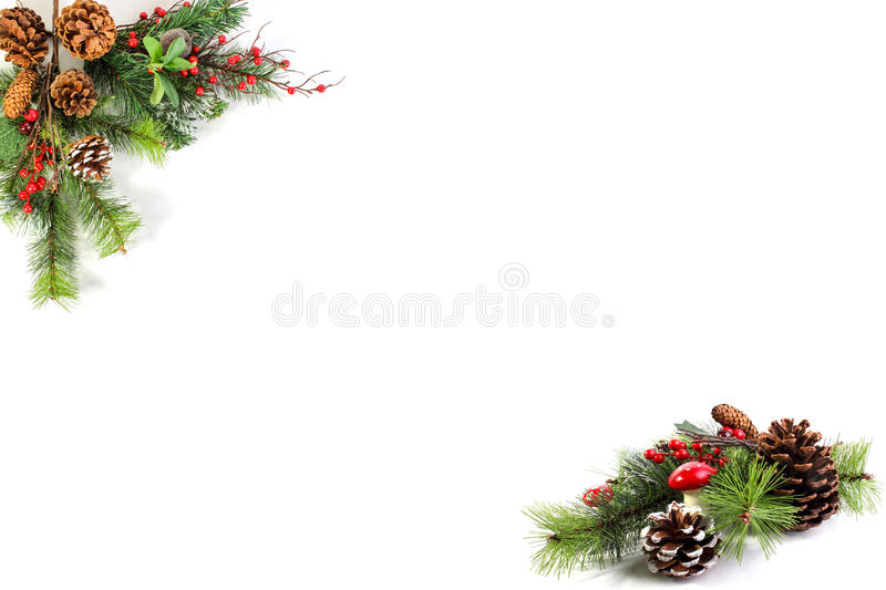 Christmas blank for your own words royalty free stock photography