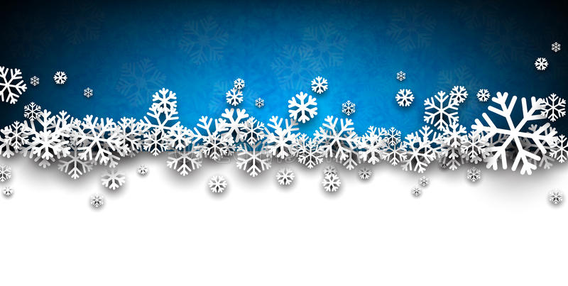 Christmas blue abstract background. vector illustration