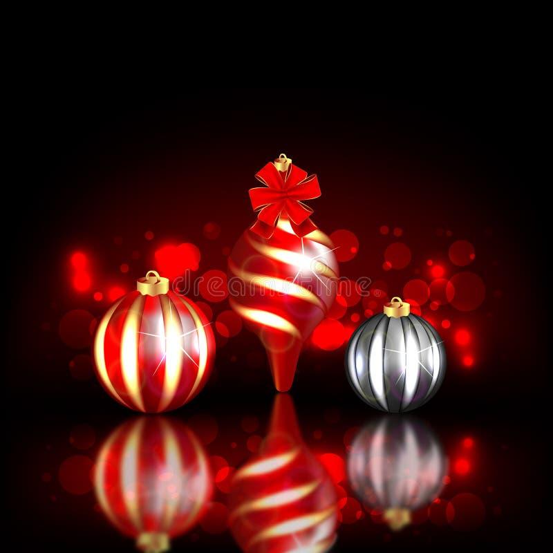 Download Christmas Blurred Design stock vector. Image of design - 21927228