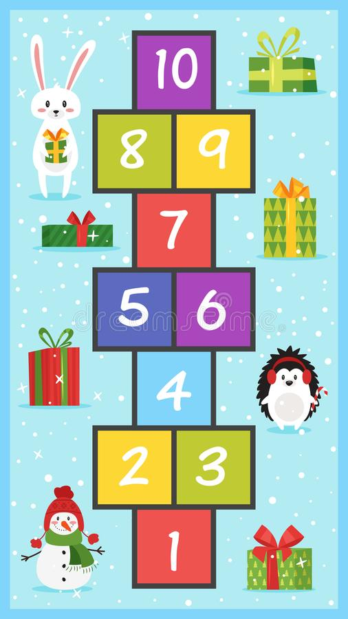Free Christmas Board Game Royalty Free Stock Image - 103197616