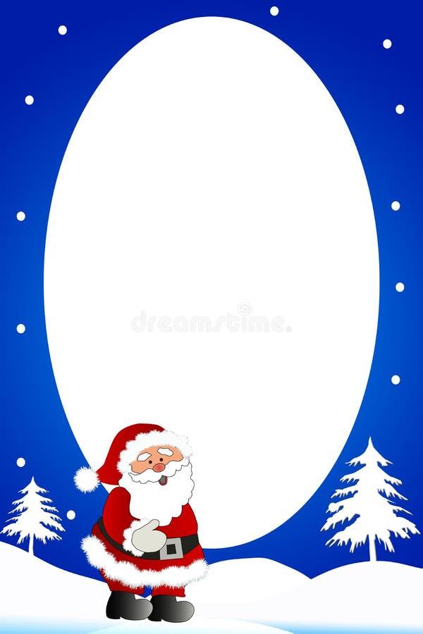Free Christmas Boder /Snowman Frame Stock Image - 6631041