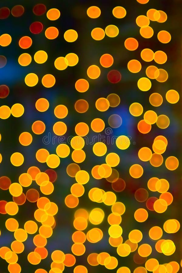 Christmas bokeh royalty free stock image