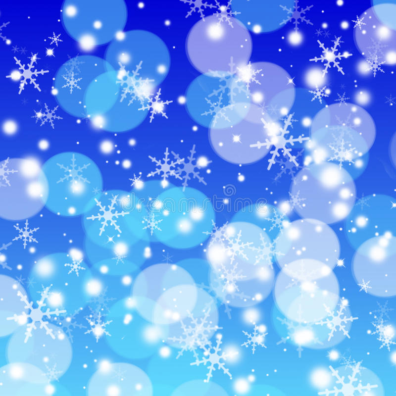 Download Christmas Bokeh stock illustration. Illustration of copy - 17087417