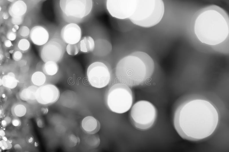 Blurred background with bokeh light. royalty free stock photography