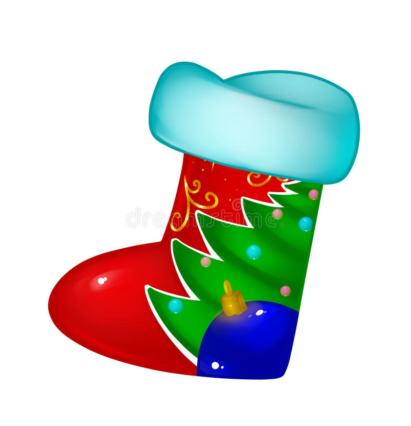 Download Christmas boots stock illustration. Illustration of boots - 33855781