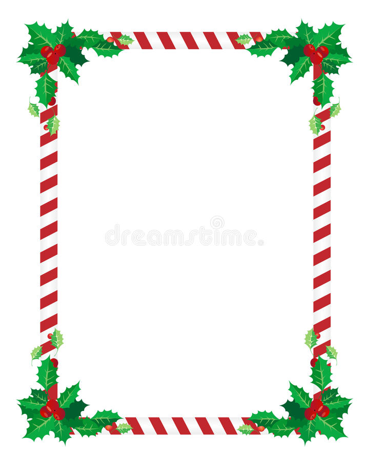 Download Christmas border stock vector. Illustration of edge, festive - 21758703