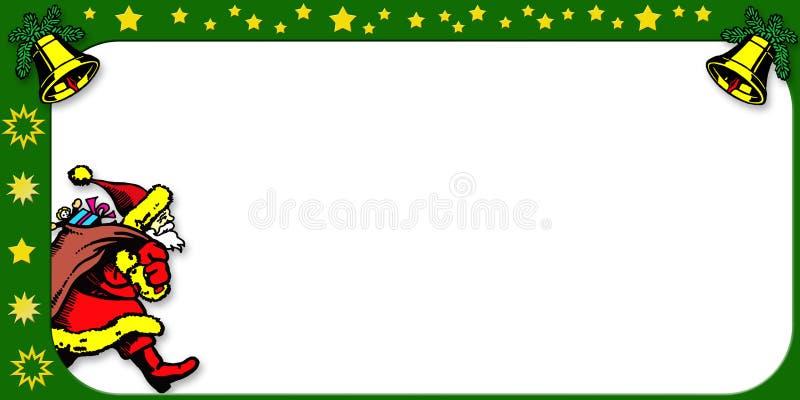 Download Christmas border stock illustration. Image of arriving - 6990799