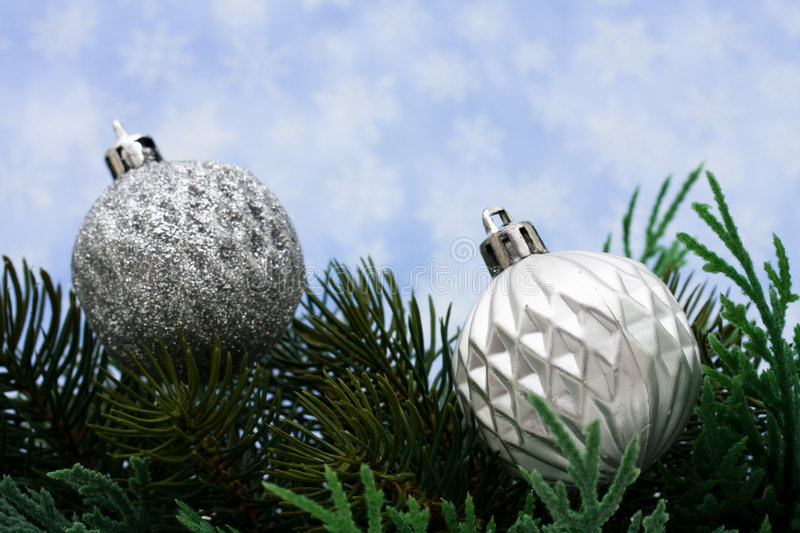 Download Christmas Border stock photo. Image of space, silver, piece - 7105488