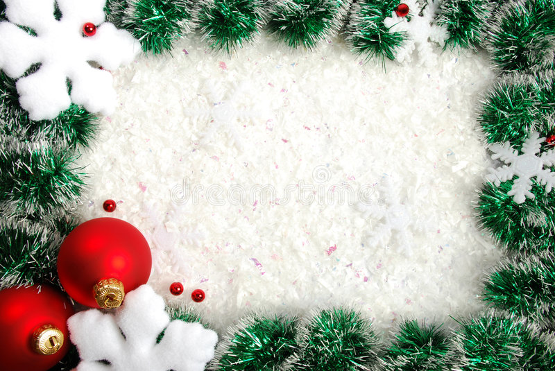 Download Christmas border stock image. Image of backgrounds, decorations - 7282735