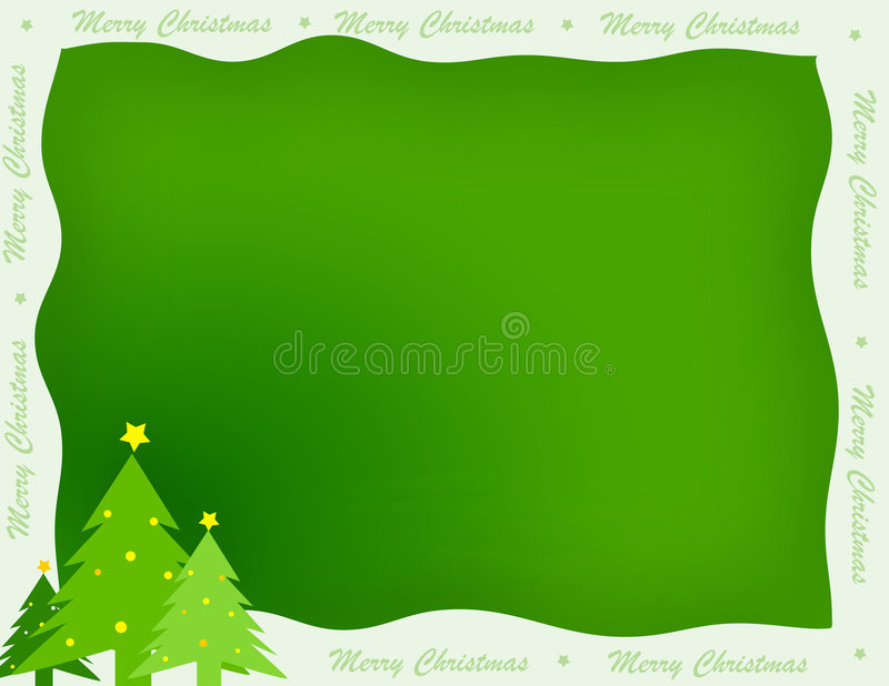 Christmas Border / Background Stock Photos