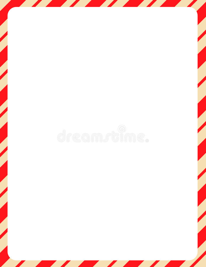 Download Christmas Border / Candy Cane Stock Vector - Illustration of border, retro: 21111704