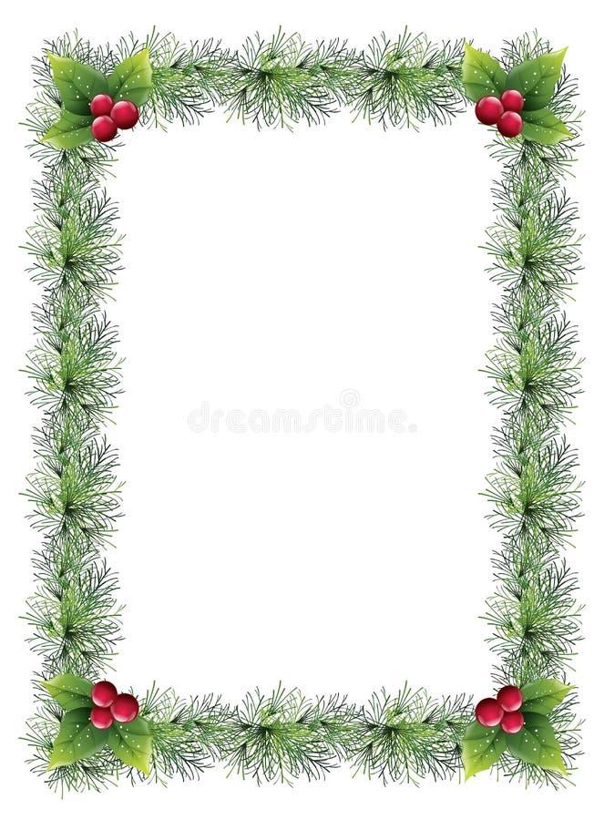 Christmas Border Stock Vector