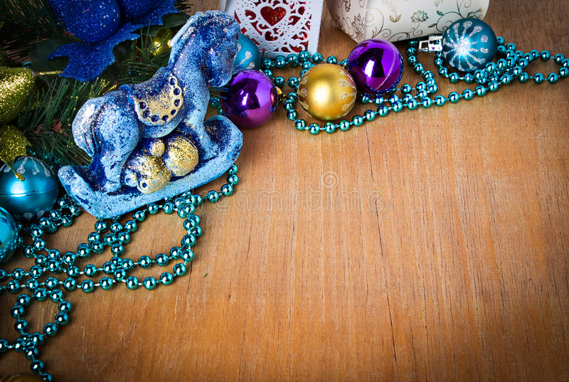 Download Christmas Border With Decoration Royalty Free Stock Photo - Image: 35269075