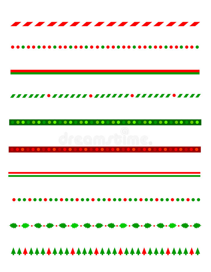 Free Christmas Border / Divider Royalty Free Stock Photography - 16718407