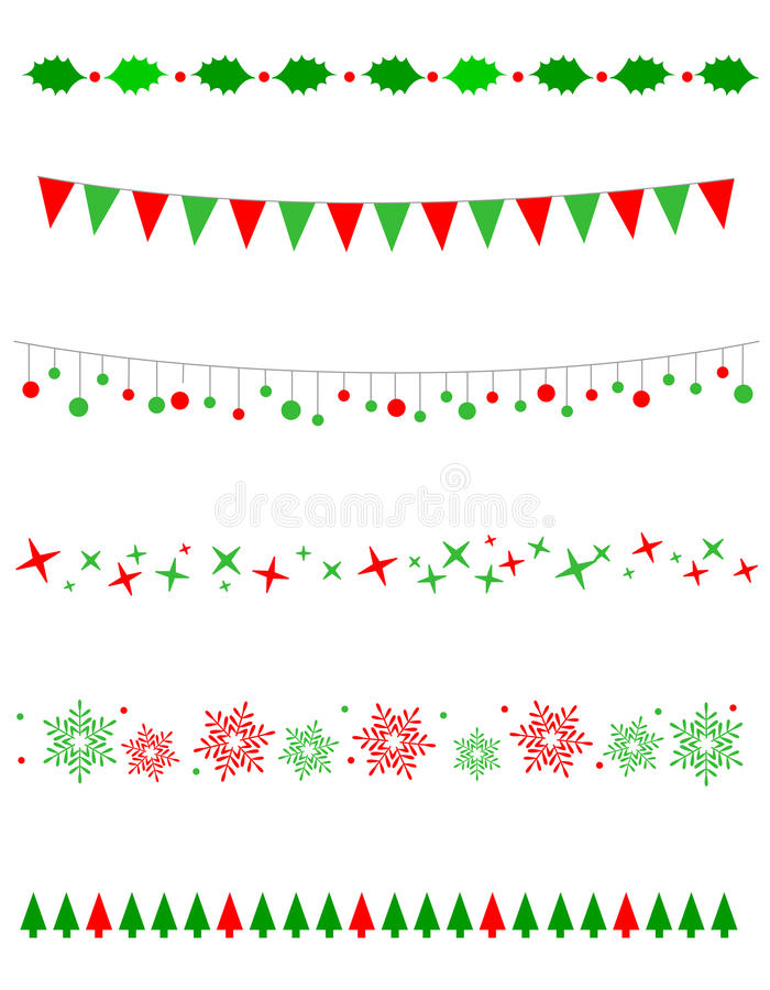 Download Christmas Border / divider stock vector. Illustration of flags - 21103111