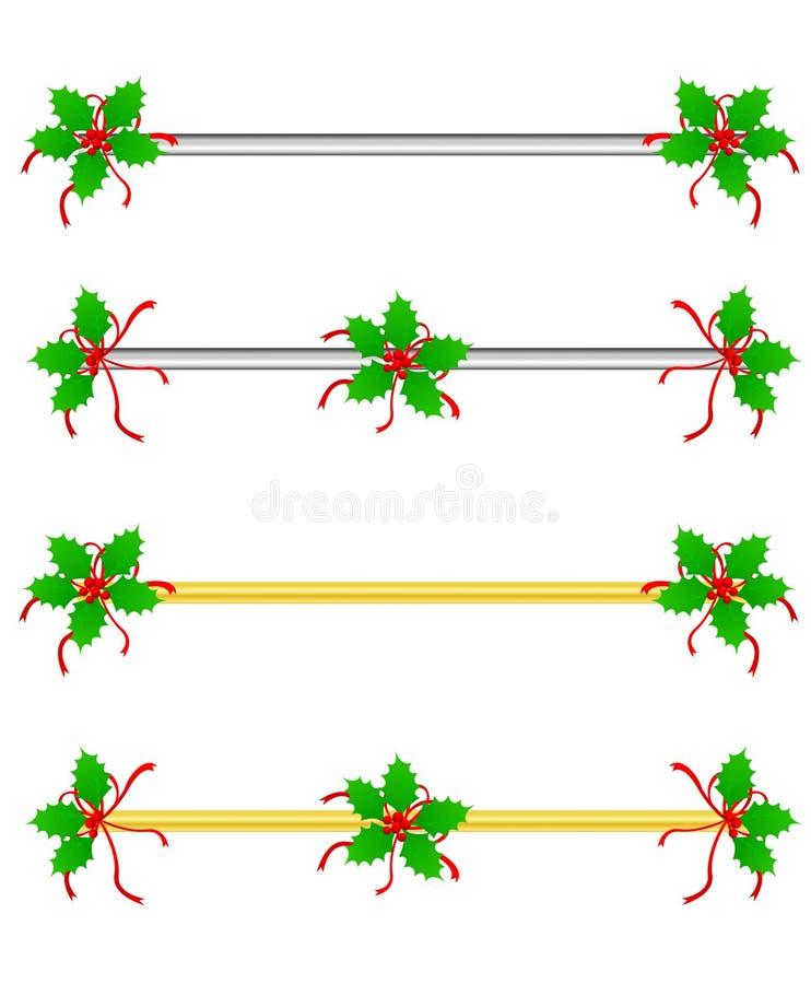 Download Christmas Border/ divider stock vector. Image of divider - 21103186