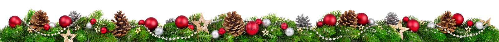 Download Christmas Border, Extra Wide Stock Photo - Image: 61991336