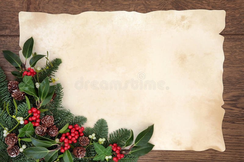 Download Christmas Border stock photo. Image of december, paper - 44086858