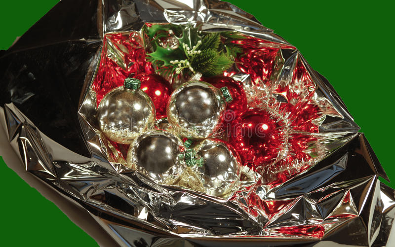 Download Christmas Bouquet With Baubles Stock Image - Image: 11013847