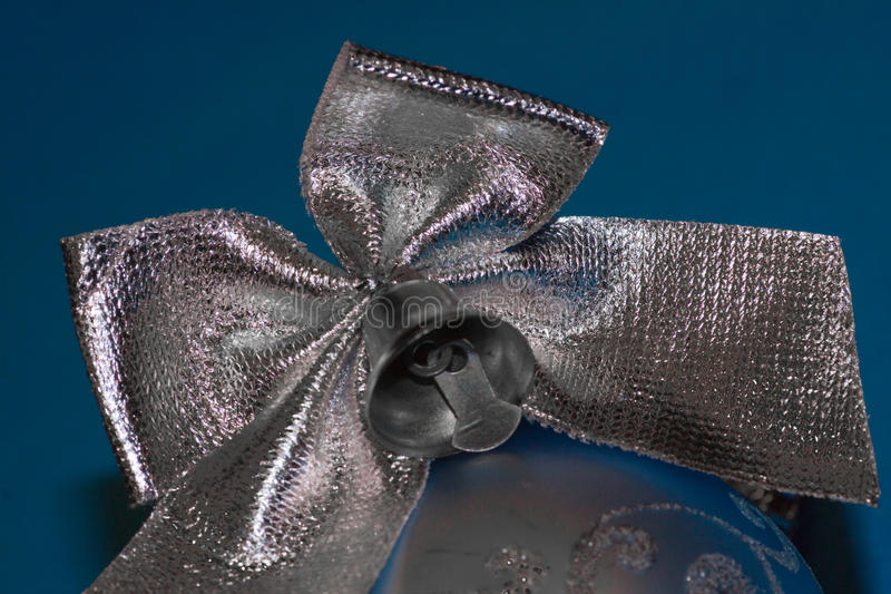 Christmas Bow. Royalty Free Stock Photo