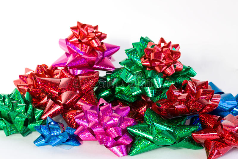 Download Christmas Bows stock image. Image of tree, holiday, gift - 12976807
