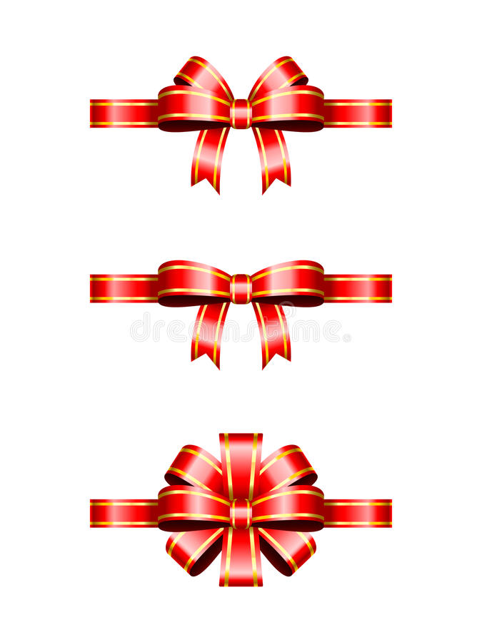 Download Christmas Bows stock vector. Image of style, holiday - 34844337