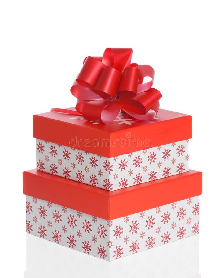 Christmas Boxes Royalty Free Stock Photos