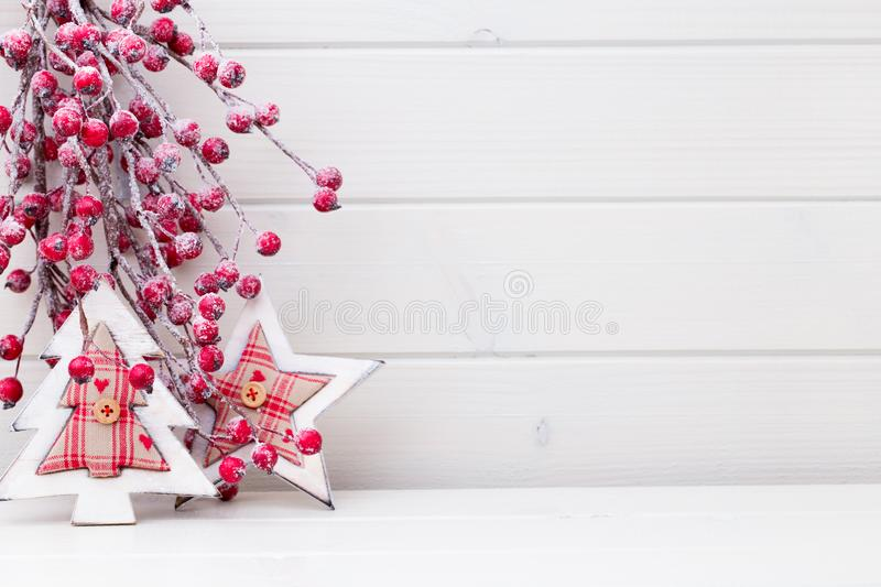 Christmas branches. Christmas greeting card. Symbol xmas. Christmas background, greeting card. Xmas decoration stock photography