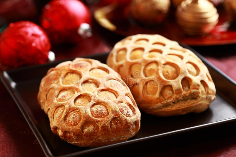 Download Christmas bread stock photo. Image of symbol, meal, december - 22041398