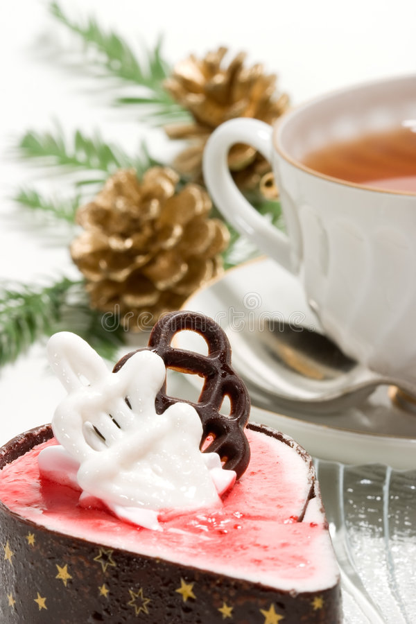 Christmas breakfast royalty free stock photo