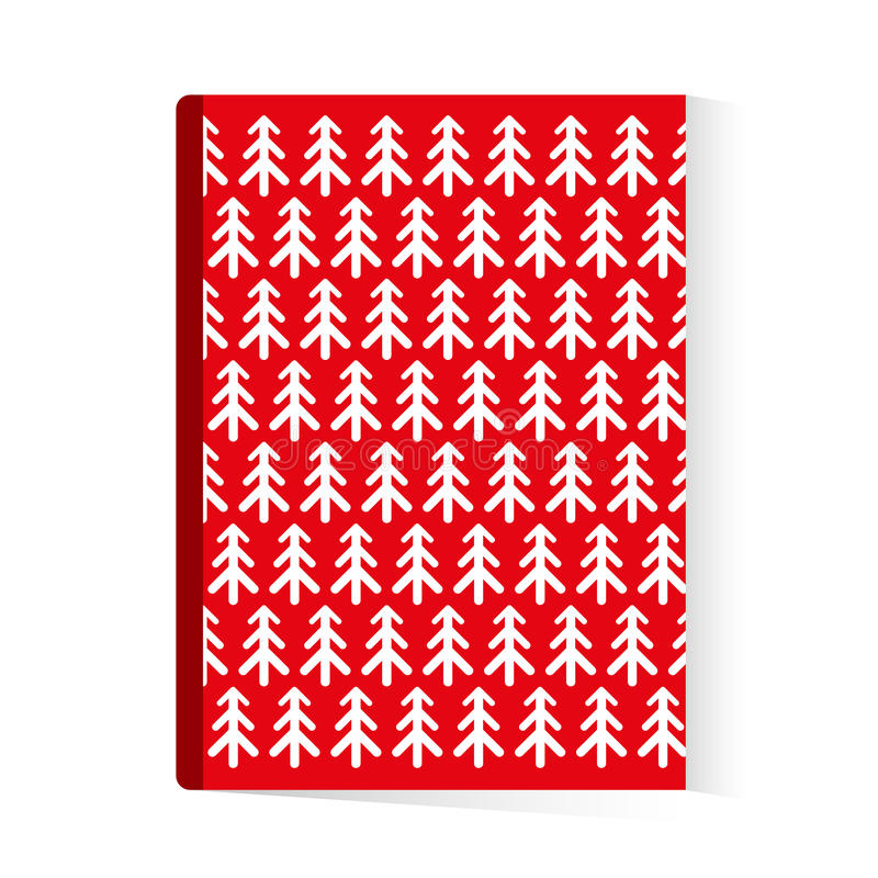 Christmas Brochure Book Template Stock Illustration Illustration