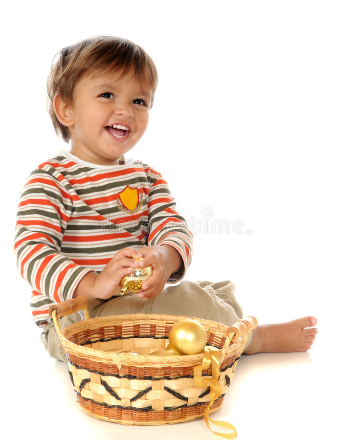 Download Christmas Bulb Baby stock image. Image of happy, person - 7139709