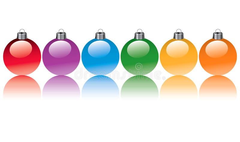 Christmas Bulbs vector illustration