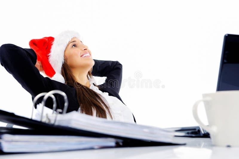 Christmas business stock image