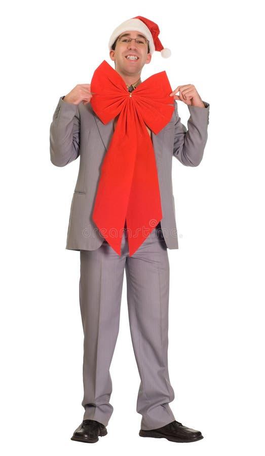 Christmas Businessman stock images