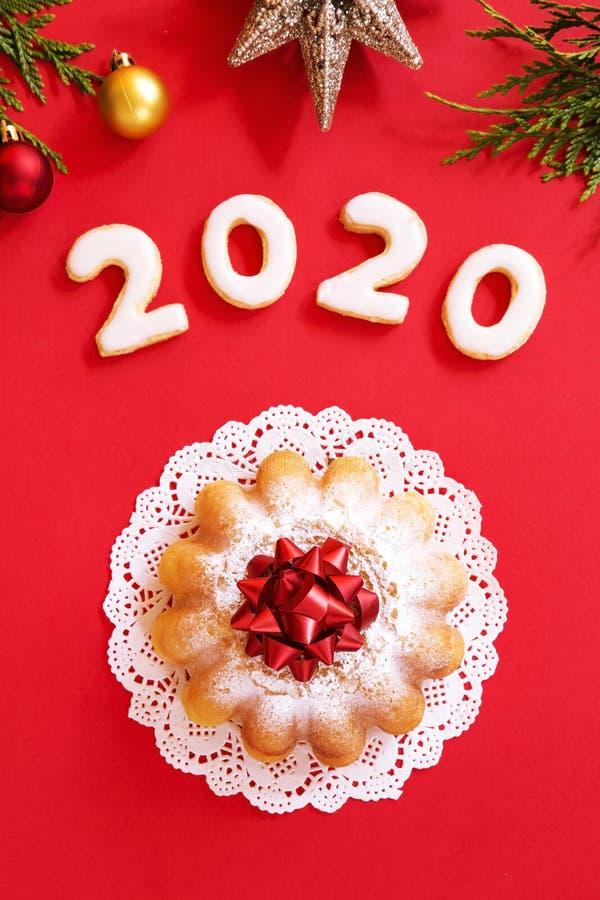 Christmas cake stock photos