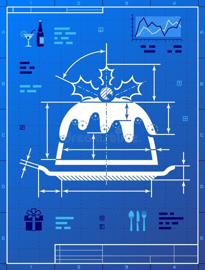 Christmas cake like blueprint drawing stock vector illustration of download christmas cake like blueprint drawing stock vector illustration of drawing chart 44198135 malvernweather Choice Image