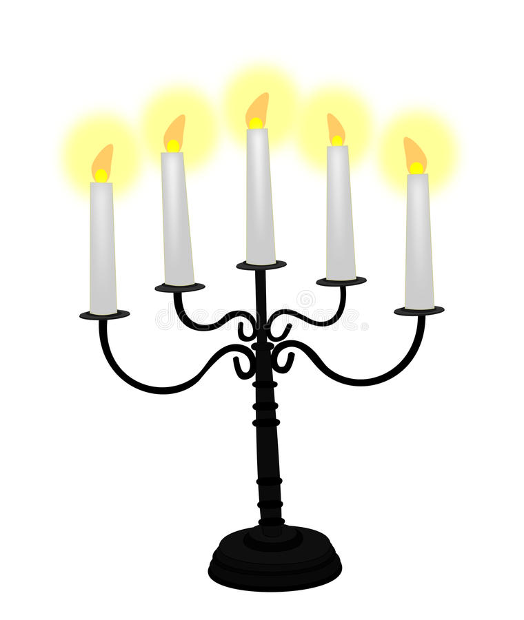 Free Christmas Candelabra Royalty Free Stock Images - 46443439