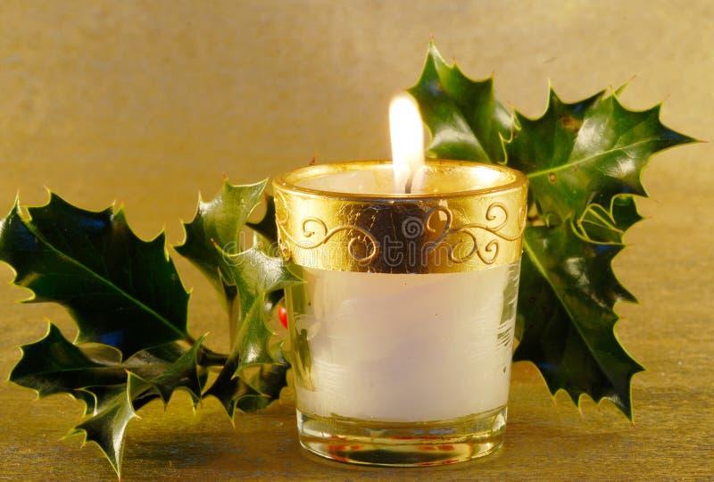 Download Christmas candle stock image. Image of evening, celebration - 3517359
