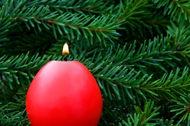 Download Christmas candle stock image. Image of home, holiday - 35297431