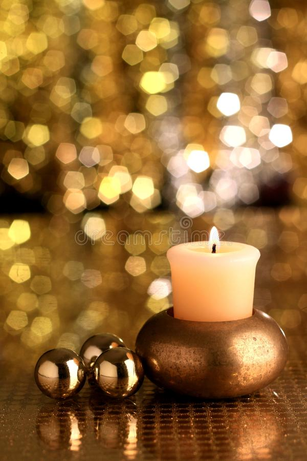 Christmas candle stock photo royalty free stock images