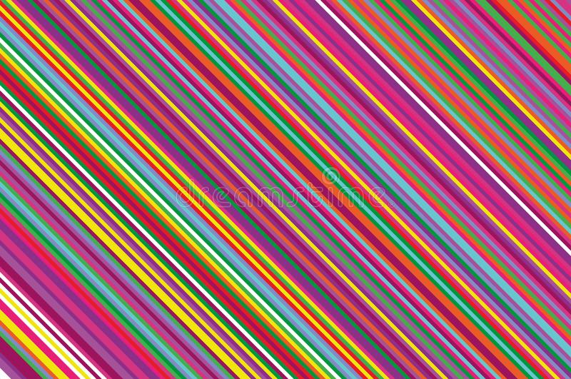 Christmas candle, lollipop pattern. Striped diagonal background with slanted lines. Stripy backdrop Vector illustration stock illustration
